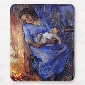 Vincent Van Gogh - The Man Is At Sea Fine Art Mouse Pad