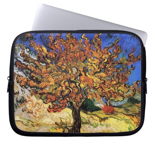 Vincent Van Gogh - The Mulberry Tree Fine Art Computer Sleeve