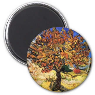 Vincent Van Gogh - The Mulberry Tree Fine Art Magnet