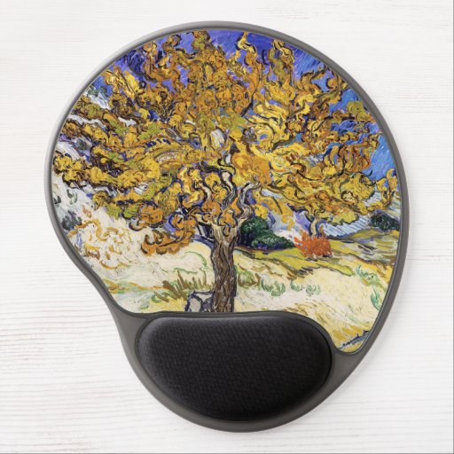 Vincent van Gogh - The Mulberry Tree Gel Mouse Pad