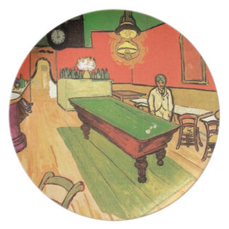 Vincent Van Gogh - The Night Cafe In Arles Dinner Plate