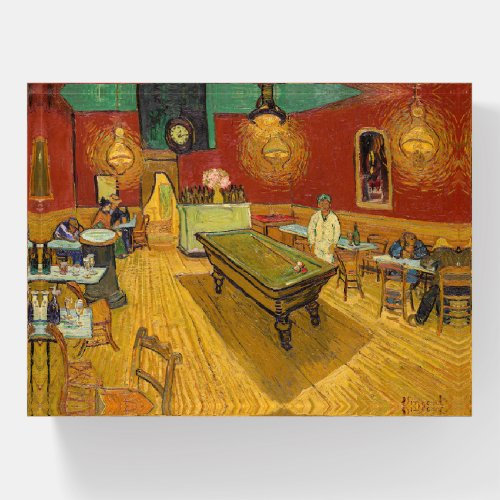 Vincent van Gogh - The Night Cafe Paperweight