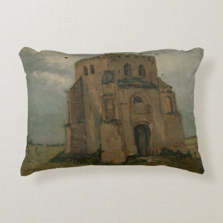 Vincent van Gogh - The Old Church Tower at Nuenen Decorative Pillow