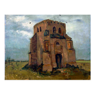 Vincent van Gogh The Old Church Tower at Nuenen Postcard