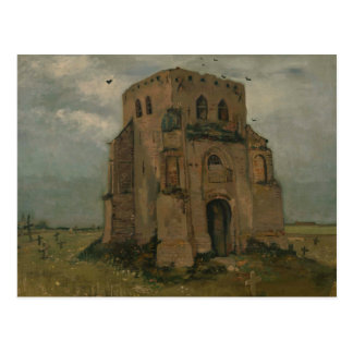 Vincent van Gogh - The Old Church Tower at Nuenen Postcard
