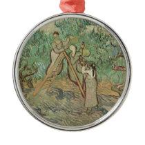 Vincent Van Gogh | The Olive Orchard Metal Ornament