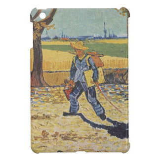 Vincent Van Gogh - The Painter on his Way to Work iPad Mini Cases
