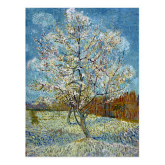 Vincent van Gogh The Pink Peach Tree Postcard