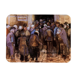 Vincent Van Gogh - The Poor And Money - Fine Art Magnet