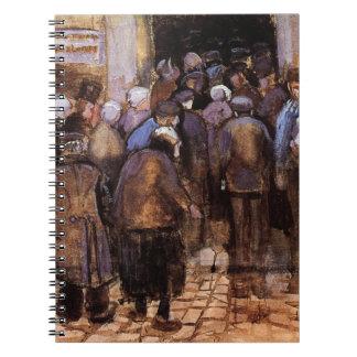 Vincent Van Gogh - The Poor And Money - Fine Art Notebook