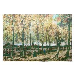Vincent Van Gogh - The poplars in Nuenen Cloth Placemat