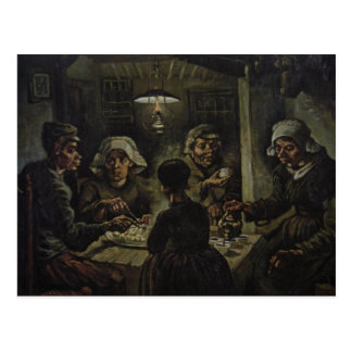 Vincent Van Gogh - The Potato Eaters Postcard