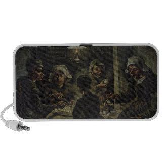 Vincent Van Gogh - The Potato Eaters Travel Speakers