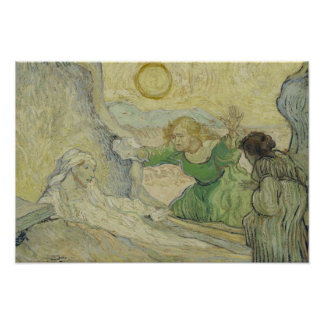 Vincent van Gogh - The Raising of Lazarus Poster