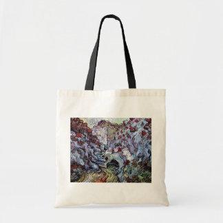 Vincent Van Gogh - The Ravine (Les Peiroulets) Tote Bag