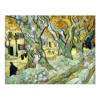 Vincent van Gogh The Road Mender Postcard