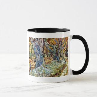 Vincent Van Gogh - The Road Menders - Fine Art Mug