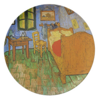 Vincent Van Gogh - the ROOM Party Plate