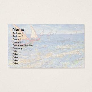 Vincent Van Gogh - The Sea At Saintes Maries Business Card
