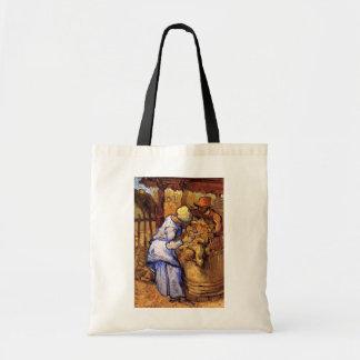 Vincent Van Gogh - The Sheep Shearers - Fine Art Tote Bag