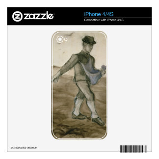 Vincent van Gogh | The Sower, 1881 Decal For The iPhone 4