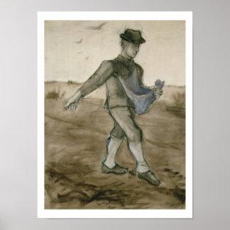 Vincent van Gogh | The Sower, 1881 Poster