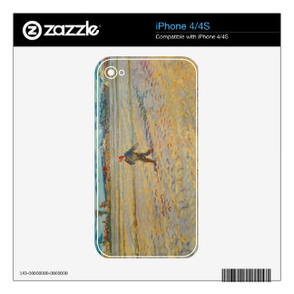 Vincent van Gogh | The Sower, 1888 iPhone 4 Decal