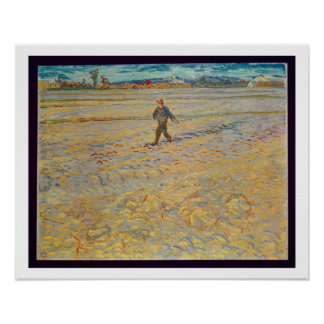 Vincent van Gogh | The Sower, 1888 Poster