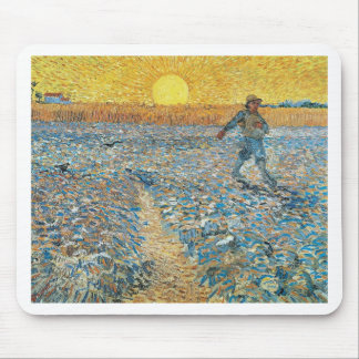Vincent Van Gogh The Sower Painting Art Mouse Pad