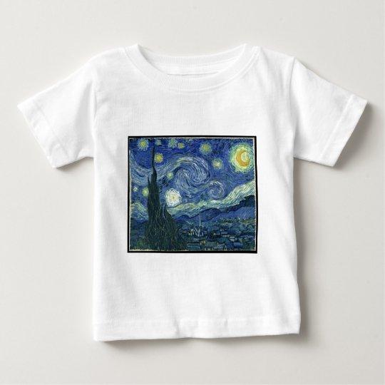 Vincent Van Gogh - The Starry Night (1889) Baby T-Shirt