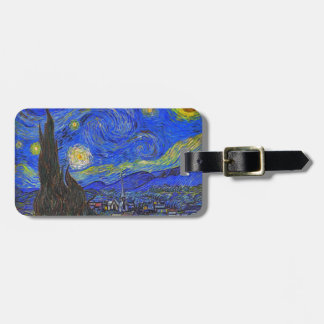 Vincent van Gogh - The Starry Night (1889) Bag Tag
