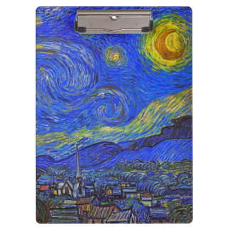 Vincent van Gogh - The Starry Night (1889) Clipboard