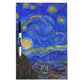 Vincent van Gogh - The Starry Night (1889) Dry-Erase Board