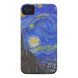 Vincent van Gogh - The Starry Night (1889) iPhone 4 Case-Mate Case