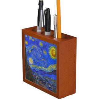 Vincent van Gogh - The Starry Night (1889) Pencil/Pen Holder