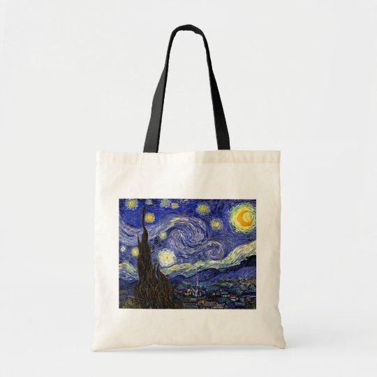 Vincent Van Gogh - The Starry Night Fine Art Tote Bag