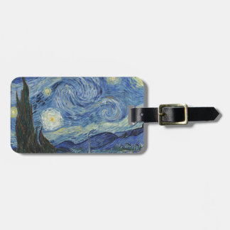 Vincent van Gogh | The Starry Night, June 1889 Bag Tag