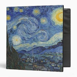 Vincent van Gogh | The Starry Night, June 1889 Binder