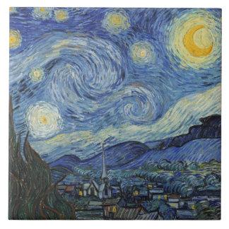 Vincent van Gogh | The Starry Night, June 1889 Ceramic Tile