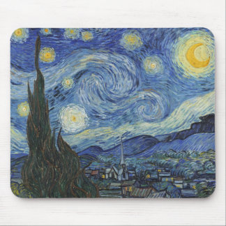 Vincent van Gogh | The Starry Night, June 1889 Mouse Pad