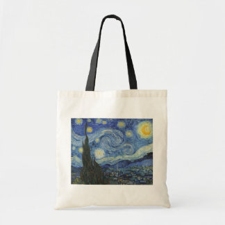 Vincent van Gogh | The Starry Night, June 1889 Tote Bag