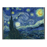 Vincent Van Gogh The Starry Night Postcards