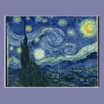 Vincent Van Gogh The Starry Night Postcards