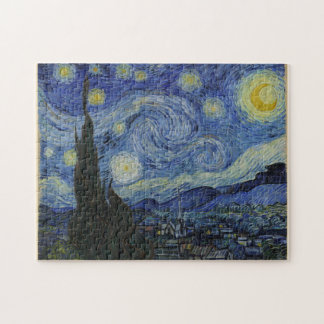 Vincent Van Gogh The Starry Night Jigsaw Puzzle