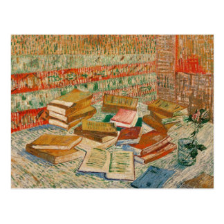 Vincent van Gogh | The Yellow Books, 1887 Postcard