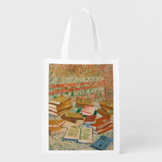 Vincent van Gogh | The Yellow Books, 1887 Reusable Grocery Bag