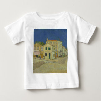 Vincent Van Gogh The Yellow House Painting Baby T-Shirt