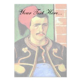 Vincent Van Gogh - The Zouave - Soldier Portrait Card
