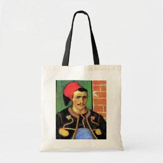 Vincent Van Gogh - The Zouave - Soldier Portrait Tote Bag