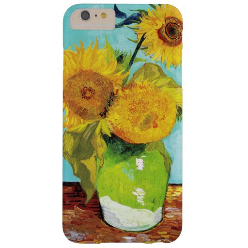 Vincent Van Gogh Three Sunflowers In a Vase Barely There iPhone 6 Plus Case
